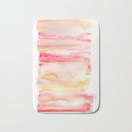 141203 Abstract Watercolor Block 44 Bath Mat
