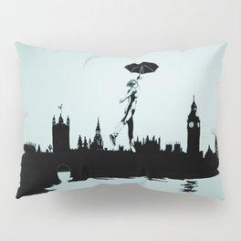 Crossing the Thames Pillow Sham