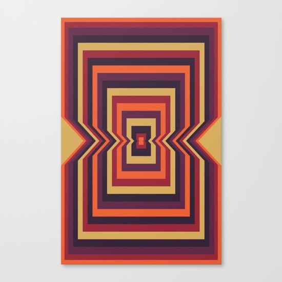 Squared Vortex Canvas Print