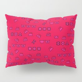 Pink Wash & Care Pillow Sham