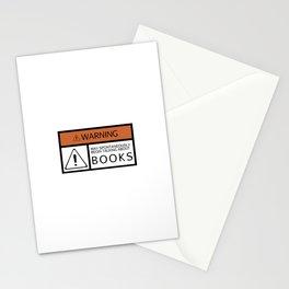 WARNING: Books Stationery Cards