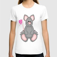 mouse T-shirts featuring Mouse by Digital-Art