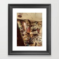 Chaotic Kitchen Framed Art Print