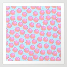 Bubblegum Pop - Sweet Pastel Art Print