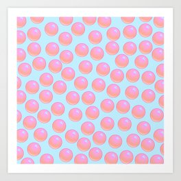 Bubblegum Pop - Sweet Pastel Art Print