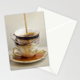 Tea Spill Stationery Cards
