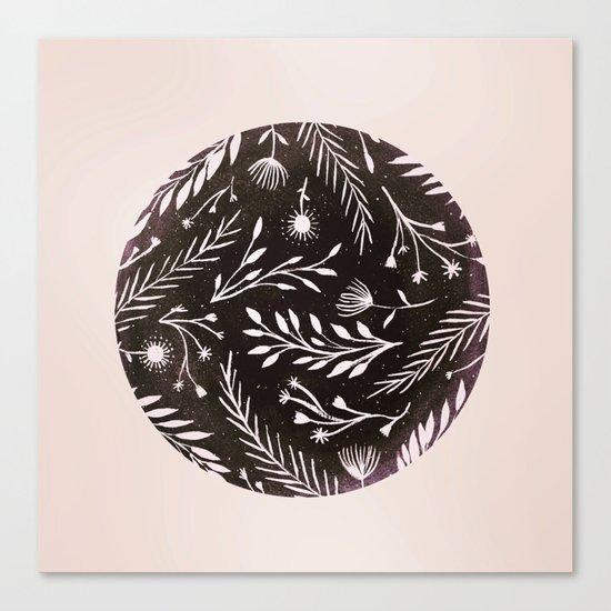 Night Flora Canvas Print
