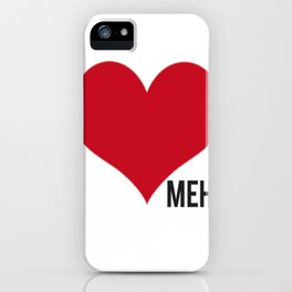 Side Meh. iPhone Case