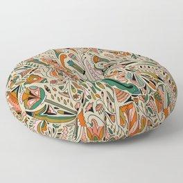 Botanical Print II Floor Pillow