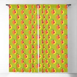 Fruit: Peach Blackout Curtain