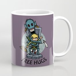 Legend of Zelda Wind Waker FREE HUGS T-Shirt Coffee Mug