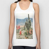 collage Tank Tops featuring Decor by Sarah Eisenlohr