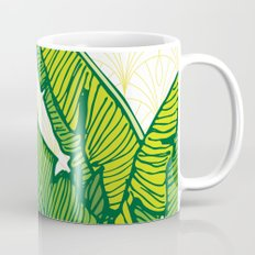 Tropical Leaves #society6 #decor #buyart Mug