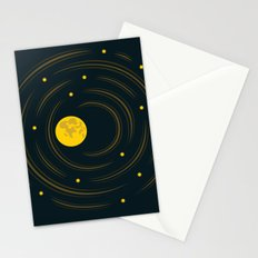Moon And Stars Dream Stationery Cards