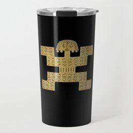 Pectoral Pre-Columbian Gold Piece Travel Mug