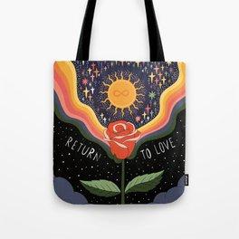 Return to love Tote Bag