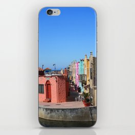 Colorful Capitola Houses iPhone Skin
