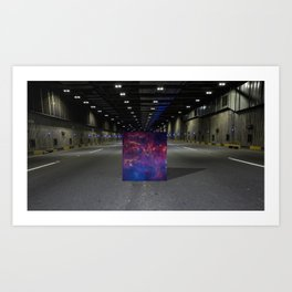 Black Hole Art Print