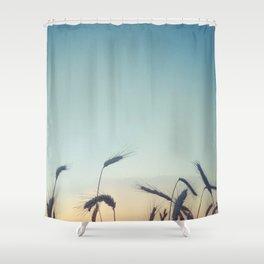 Summer of Straw Shower Curtain