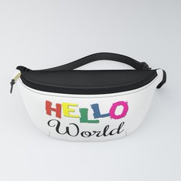 Hello World Fanny Pack