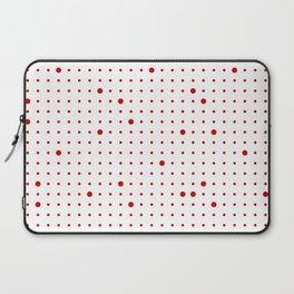Big & Small Polka Dots III Laptop Sleeve