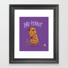 Bad Peanut Framed Art Print