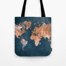 world map 15 Tote Bag