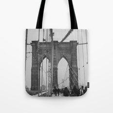 Brooklyn Bridge III Tote Bag