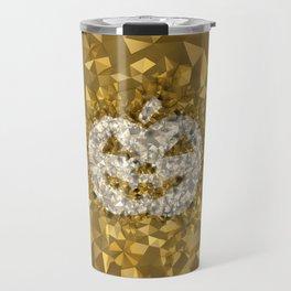 POLYNOID Pumpkin / Gold Edition Travel Mug