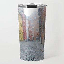 Color and Fog in Copenhagen Travel Mug