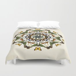 Kaleidoscope with Wings Duvet Cover