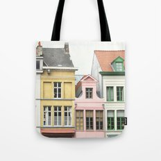Gent Houses Tote Bag