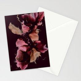 MarbleInkRed Stationery Cards