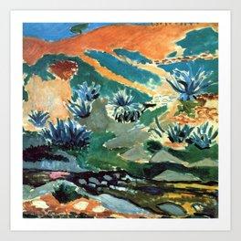 Henri Matisse Brook with Aloes Art Print