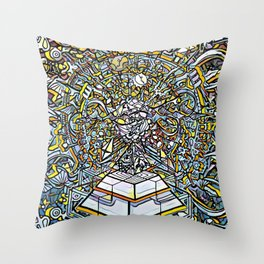 The Legacy of the Ancients Throw Pillow