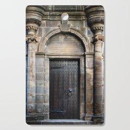 Edinburgh Mercat Cross Door Cutting Board