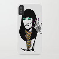 henna iPhone & iPod Cases featuring Henna by rbengtsson