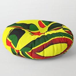 Slinky Coins (African & Jamaican Colors) - Rasha Stokes Floor Pillow