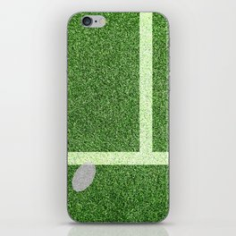 """IN"" – Hawk-Eye - green iPhone Skin"