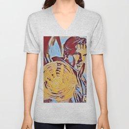 Dr Strange Magic Artistic Illustration Complementary Colors Style Unisex V-Neck