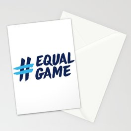 Equal Game t-shirt Stationery Cards