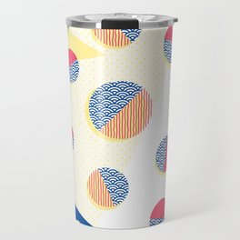 Japanese Patterns 01 Travel Mug