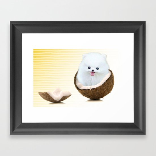 coconutty Framed Art Print