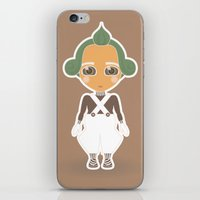 willy wonka iPhone & iPod Skins featuring Willy Wonka by Ricky Kwong