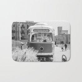 On the Waterfront Trolley Bath Mat
