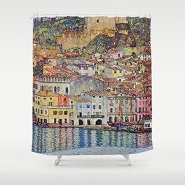 Gustav Klimt Malcesine On Lake Garda Shower Curtain