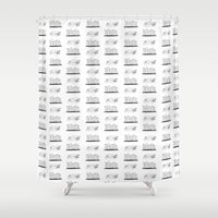 books Shower Curtains featuring Books by Anna illustrates
