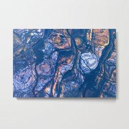water is an artist II Metal Print
