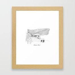 Richard Meier Framed Art Print