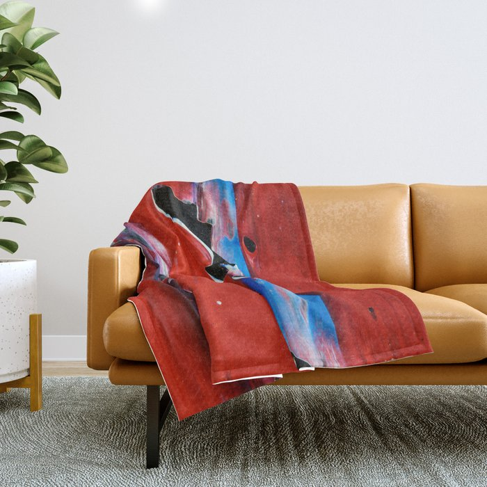 This Moment - Close-up Throw Blanket